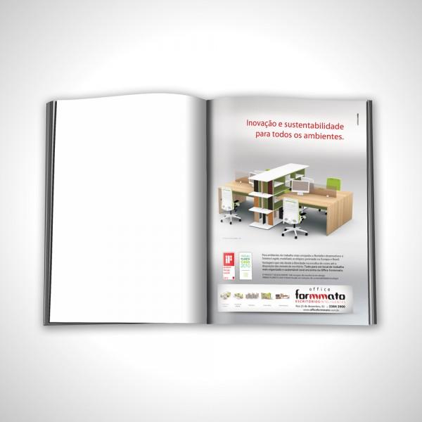 Office Formmato anúncio revista Mood Março 2012