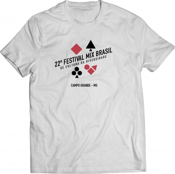 Festival Mix Brasil - Camiseta