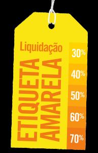 Liquidação Etiquetas Amarelas