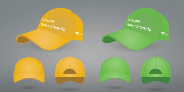 Caravana Verde Amarela - Boné