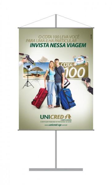 Banner Unicred Cota 100