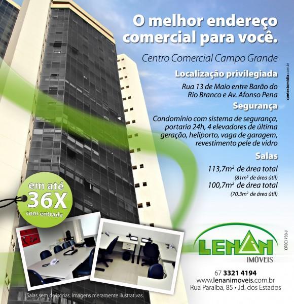 Anúncio Jornal Lenan Imobiliária