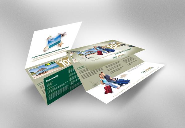 Folder Unicred Cota 100