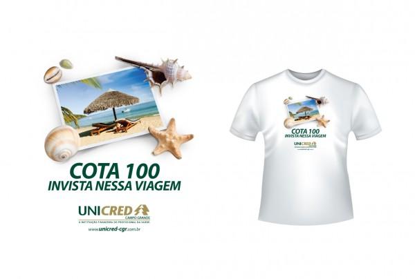 Camiseta Unicred Cota 100