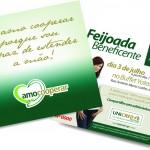 Convite Feijoada Amo Cooperar