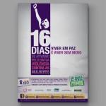 Cartaz - 16 Dias de Ativismo pelo Fim da Violência Contra as Mulheres
