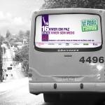 Busdoor - 16 Dias de Ativismo pelo Fim da Violência Contra as Mulheres