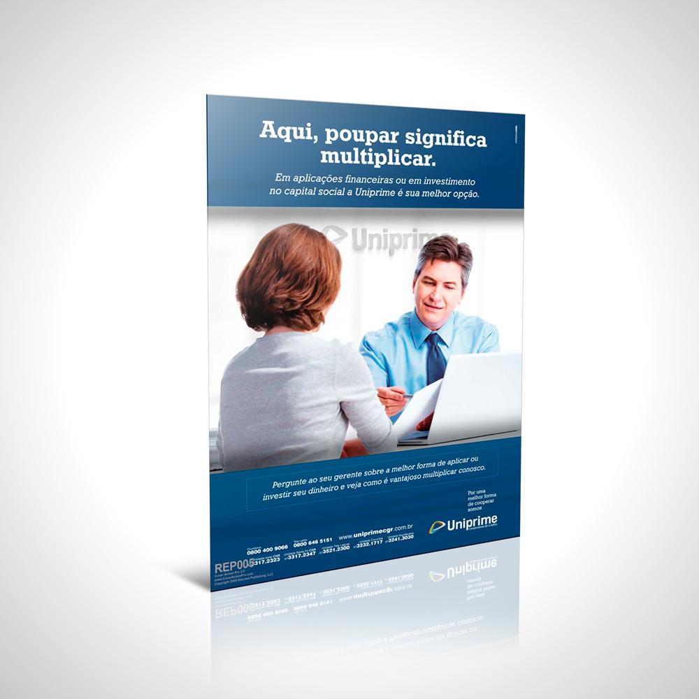 Anúncio Campanha Poupe - Uniprime