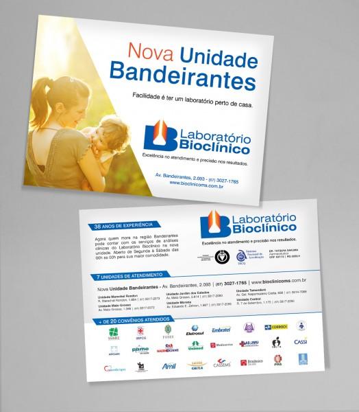 Bioclínico - Campanha Nova Unidade Bandeirantes Folheto