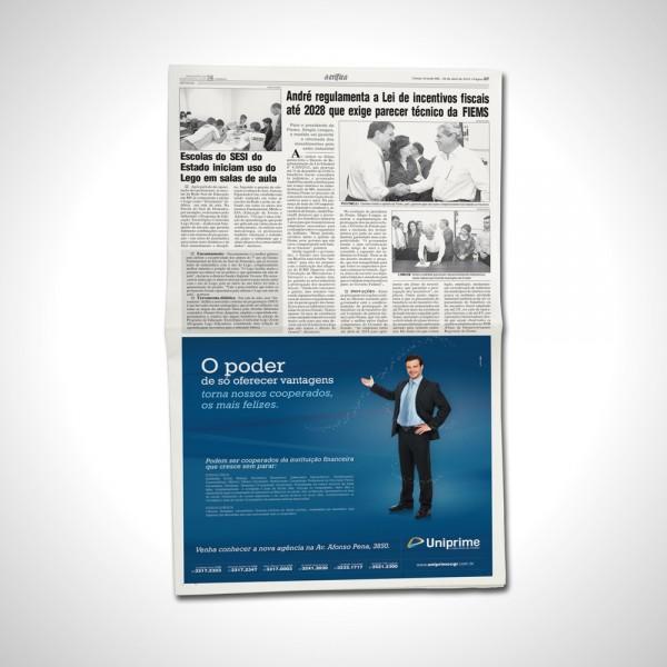Anúncio Jornal A Crítica