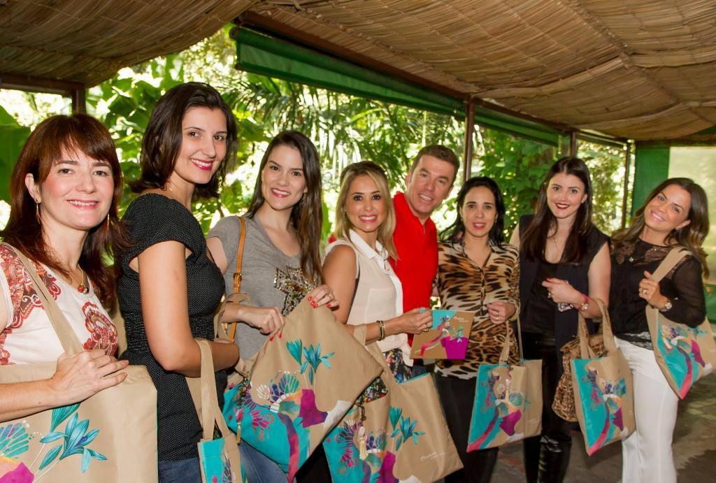 ornalistas e blogueiras conhecem as novidades de Aquarela. Foto: Justi/AL.SO