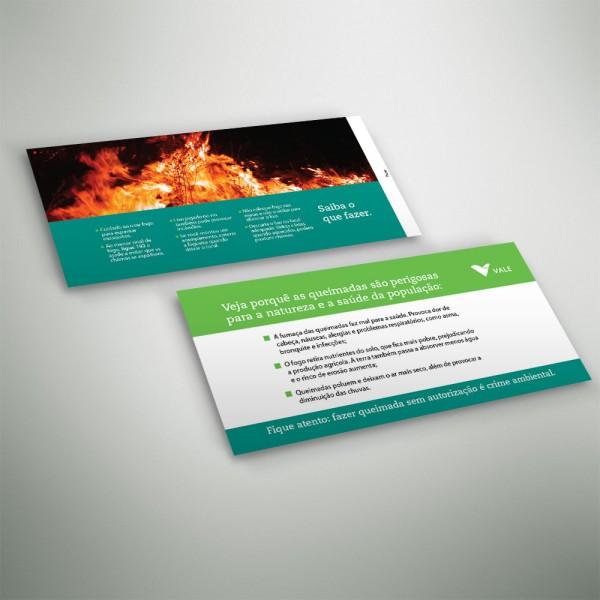 Envelope-cartão Queimadas