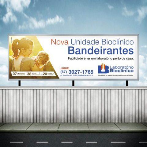 Bioclínico - Campanha Nova Unidade Bandeirantes Outdoor