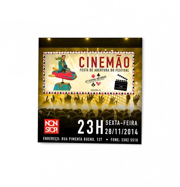Festival Mix Brasil - Itinerância Campo Grande MS - Flyer
