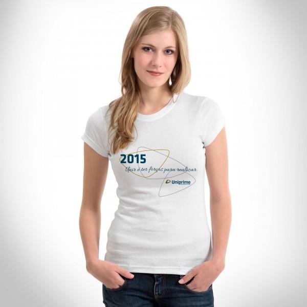 Camiseta Uniprime Feliz 2015