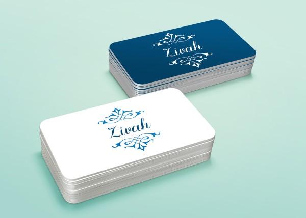 Zivah - Cartão de visitas