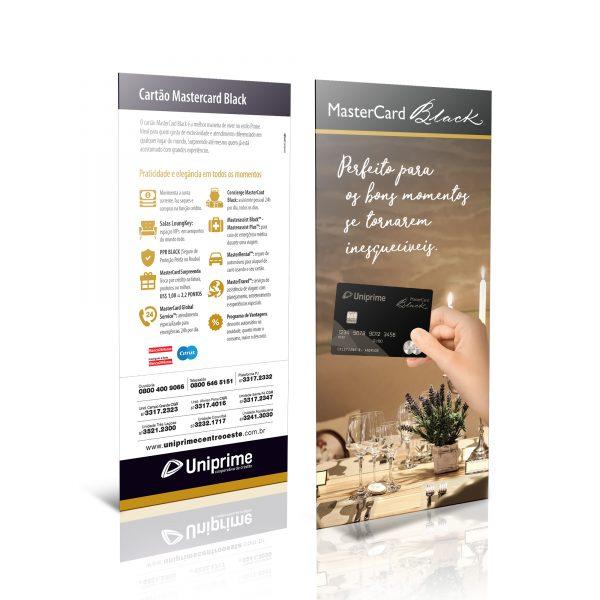 Take one Black Novos Cartões Uniprime