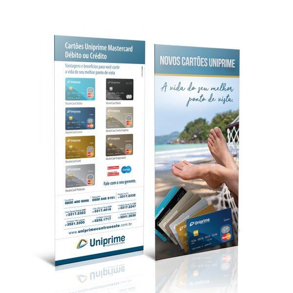 Take one Novos Cartões Uniprime