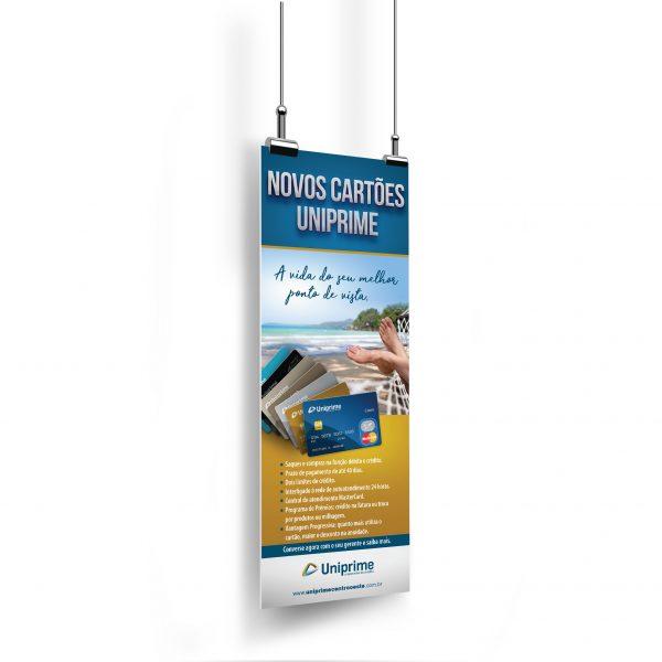 Banner Novos Cartões Uniprime