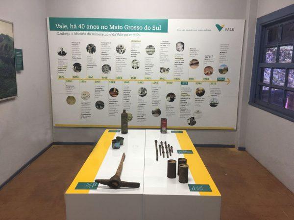 Exposição Vale 40 anos em MS