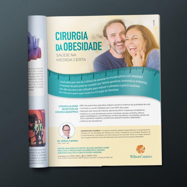 Anúncio Revista CASSEMS - Dr. Wilson Cantero